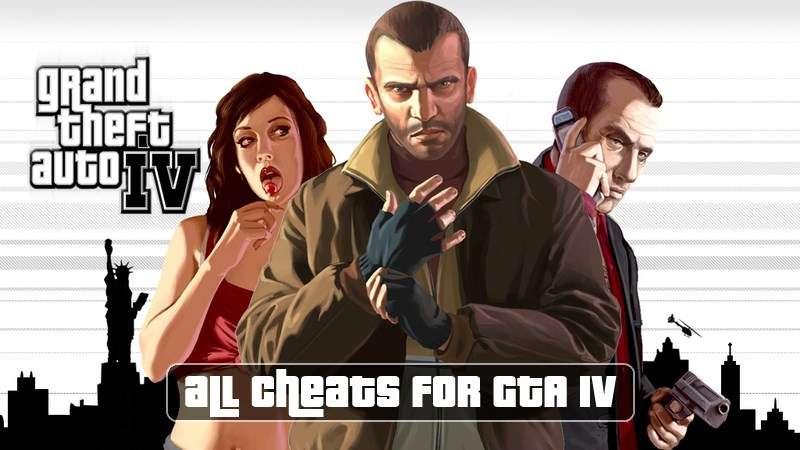 Cheats zu GTA 4