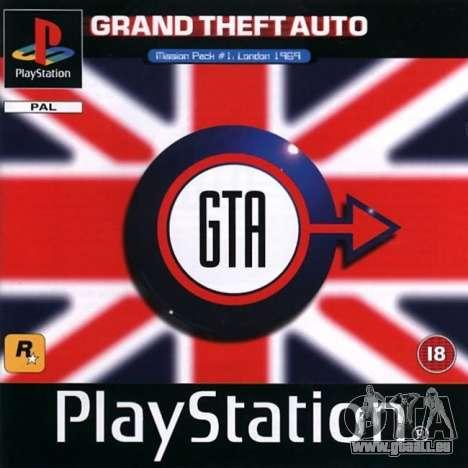 la Machine du temps: communiqué de GTA London 1969 pour la Playstation
