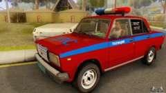 VAZ 2107 la Police pour GTA San Andreas