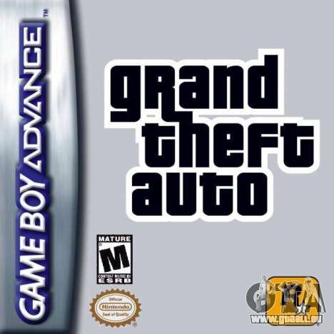 Communiqué de GTA Advance sur Game Boy Advance