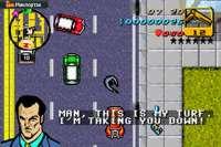 Communiqué de GTA Advance sur Game Boy Advance