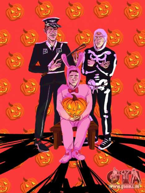 Fan-art de GTA: Halloween