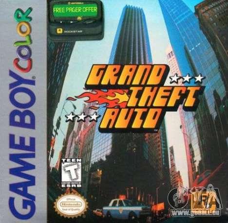 GTA 1 GBC in Nordamerika: die Features des Release