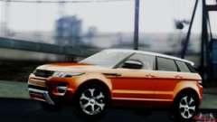 le Range Rover Evoque en 2014 pour GTA San Andreas