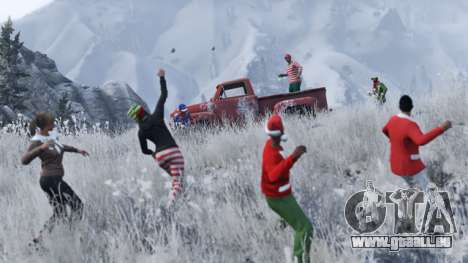 nouvel an des surprises dans GTA Online