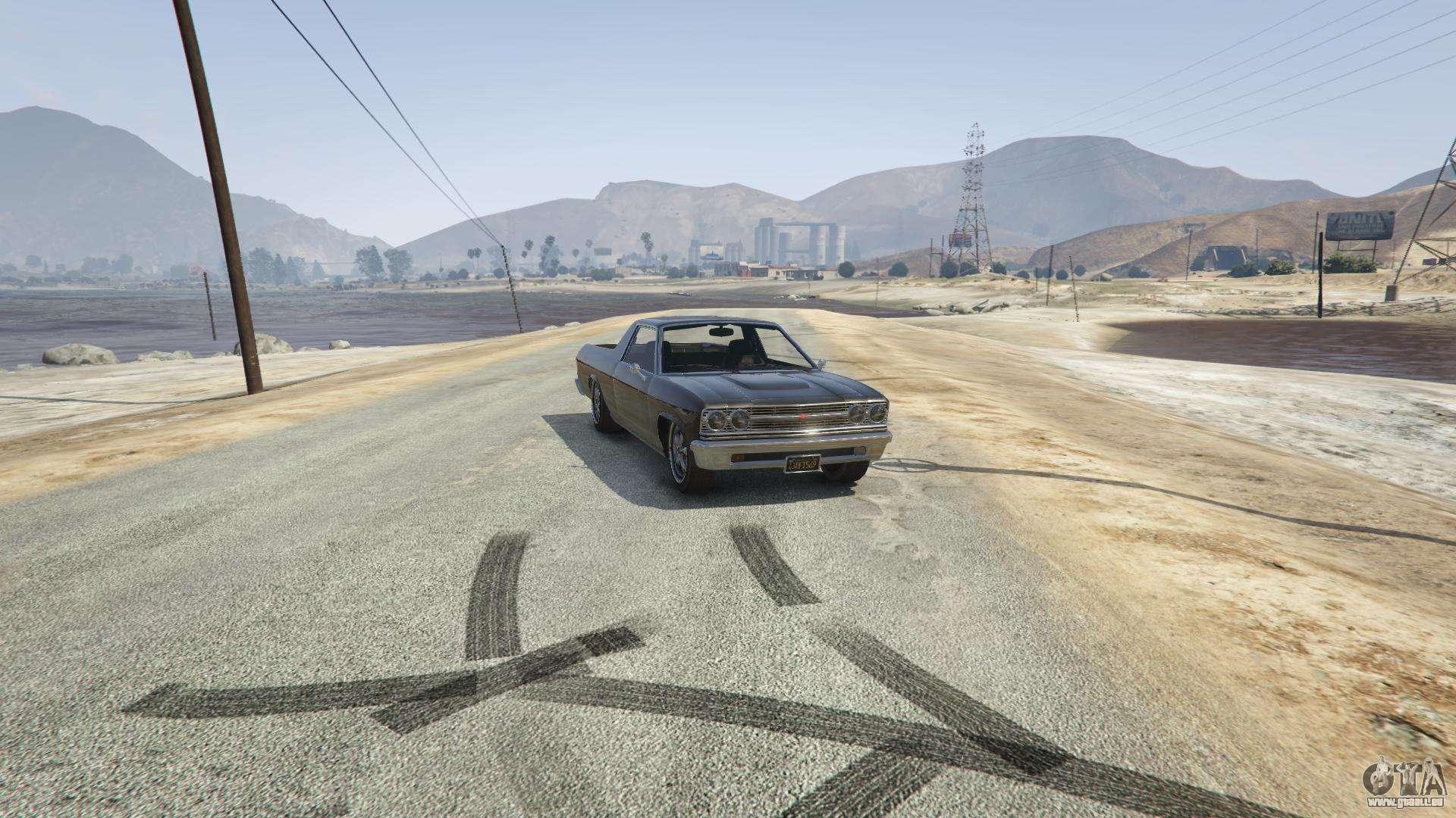 Picador von GTA 5 - Frontansicht