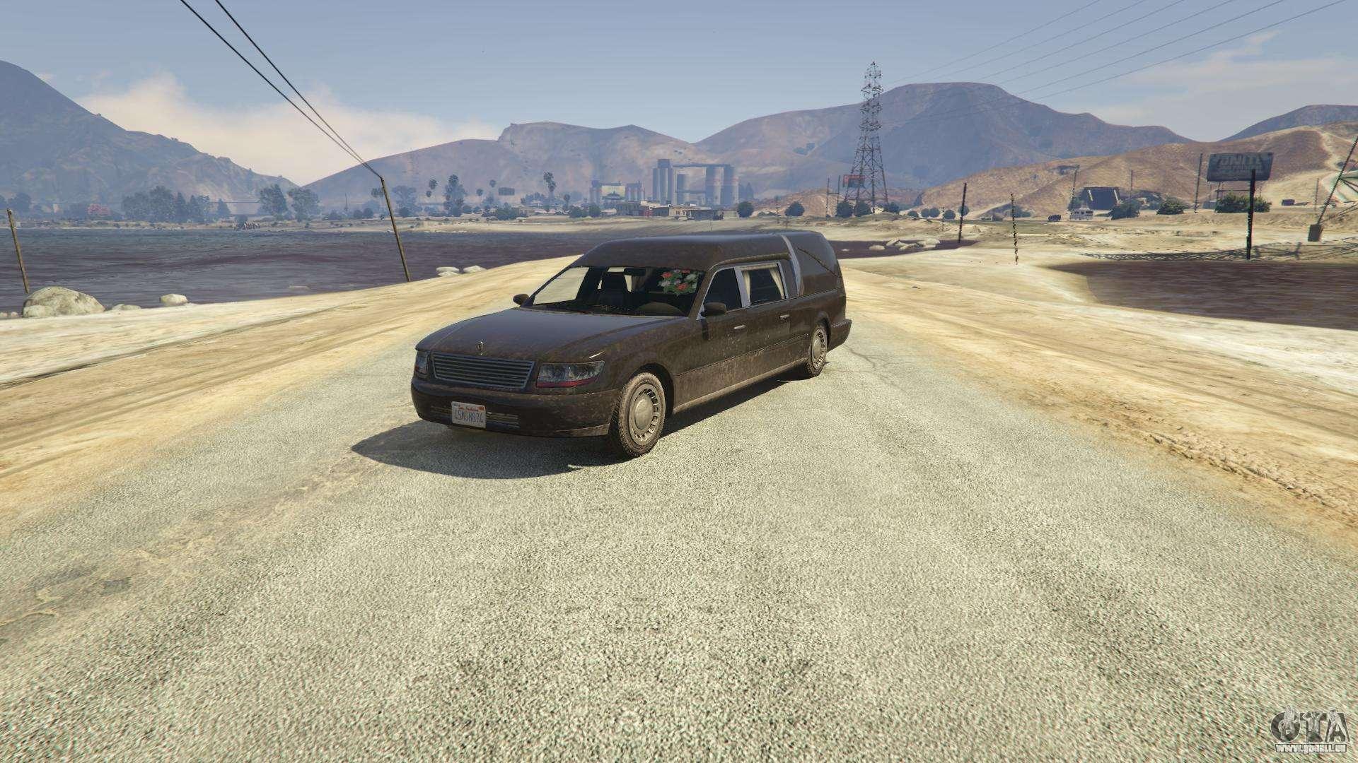 Chariot Romero aus GTA 5 - Frontansicht