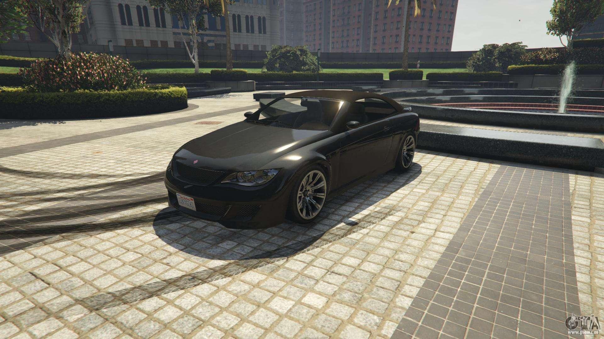Ubermacht Zion Cabrio von GTA 5 - Frontansicht