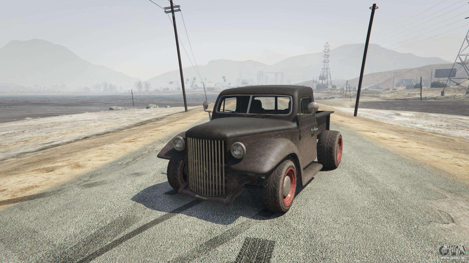 Rat-Truck aus GTA 5 - Frontansicht