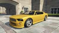 Bravado Buffalo GTA 5 - vue de face