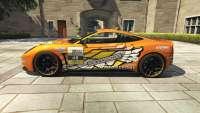 Dewbauchee Massacro Racecar aus GTA 5 - seitenansicht