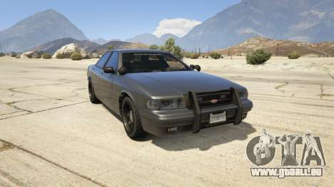 Vapid Unmarked Cruiser