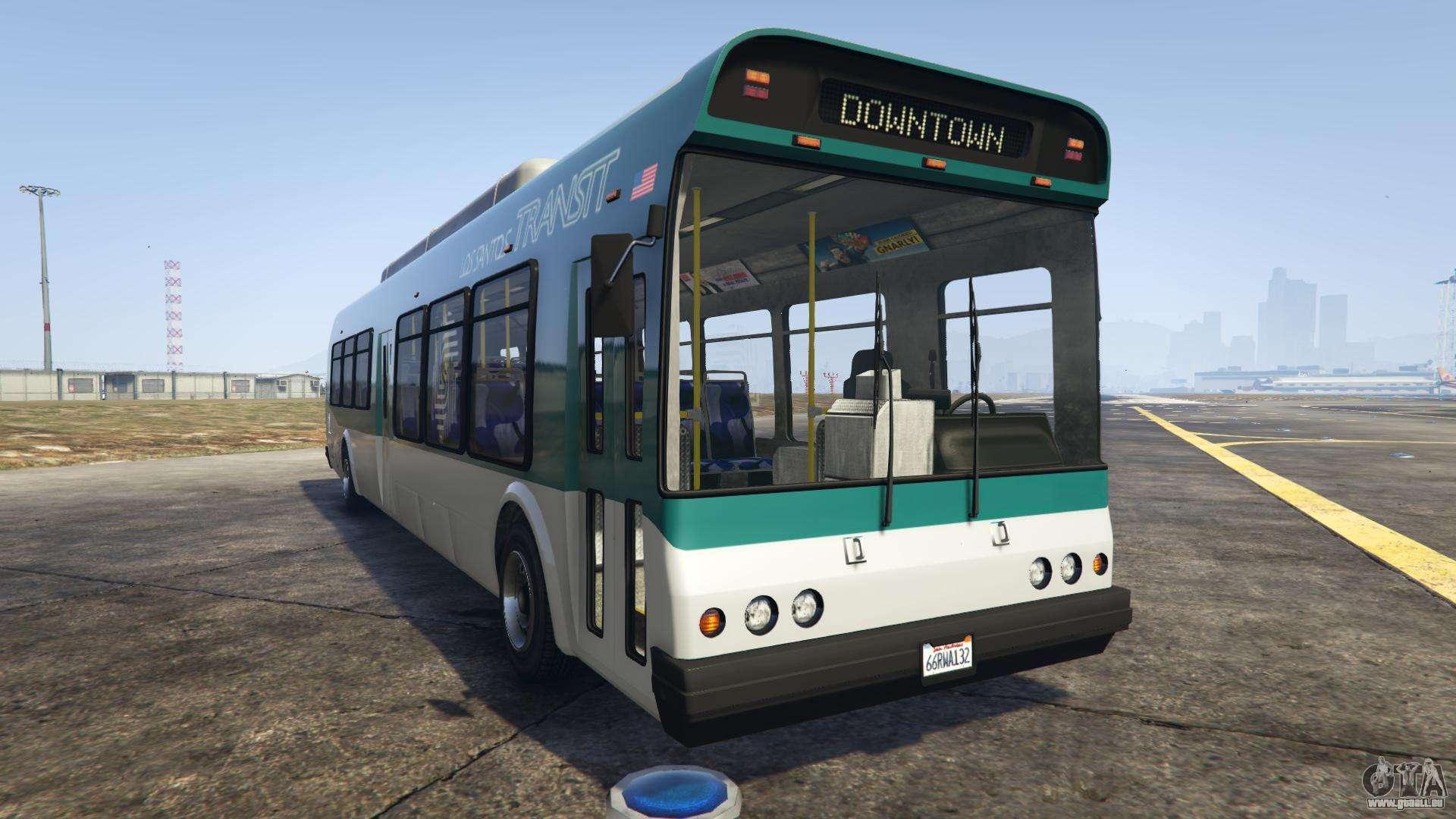 GTA 5 Brute Bus - vue de face