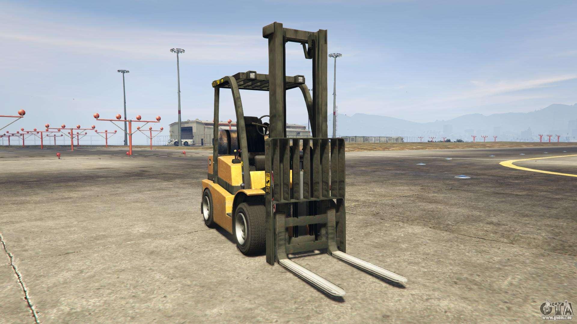 GTA 5 HVY Forklift - Frontansicht