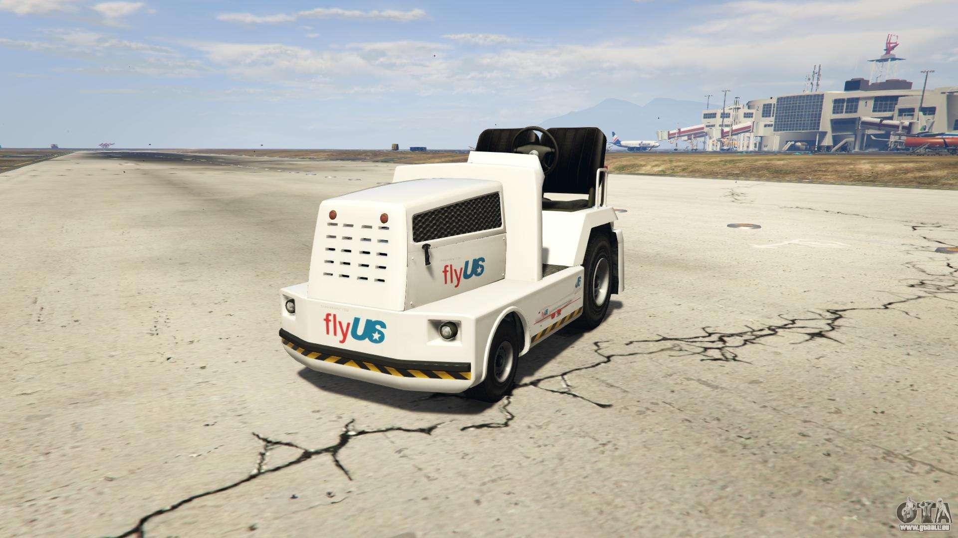 GTA 5 HVY Airtug - vorderansicht