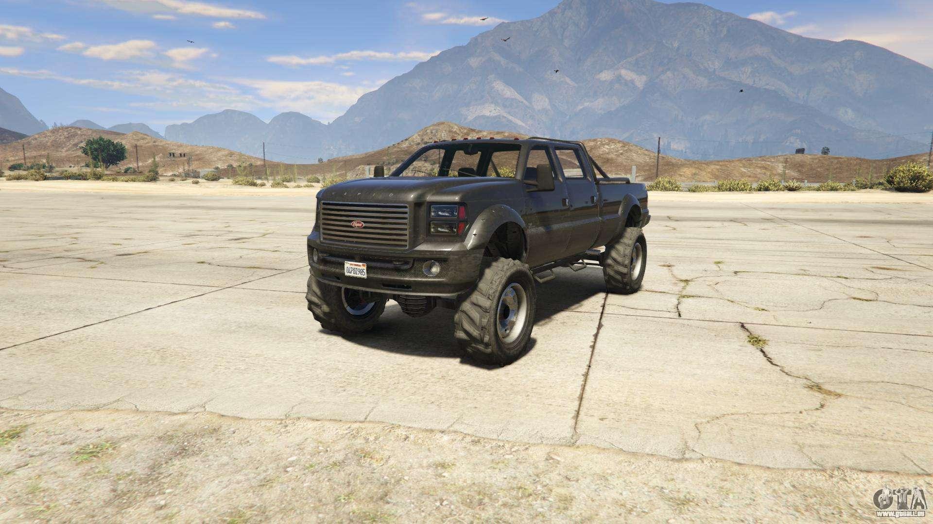 GTA 5 Vapid Sandking XL - Frontansicht