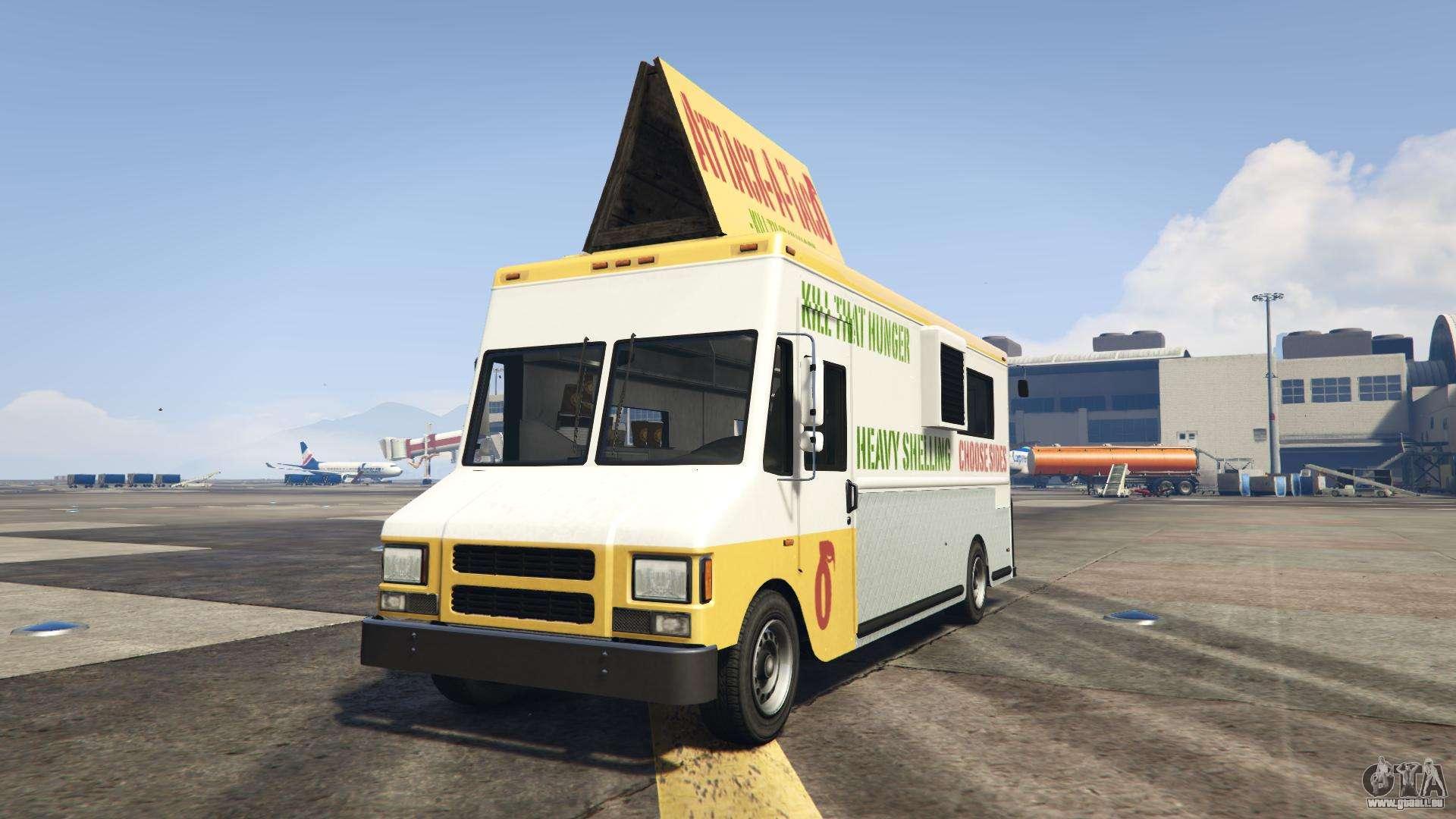 GTA 5 Brute Taco Van - vue de face