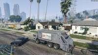 Camion Poubelle - voler camion poubelle