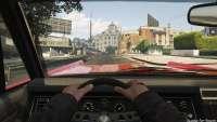 Vapid Chino de GTA 5: la vue depuis le cockpit