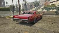 Vapid Chino de GTA 5 - vue de l'arrière