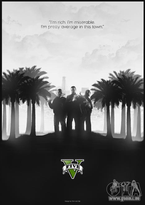 GTA 5 fan de l'affiche