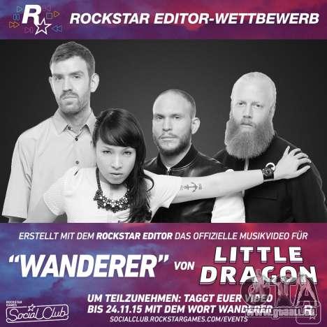 Rockstar-Editor Wettbewerb