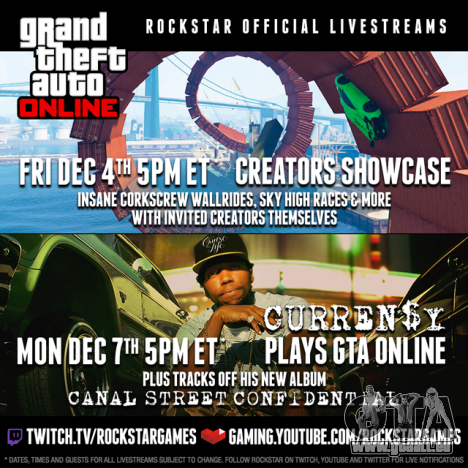 GTA Online-Streams
