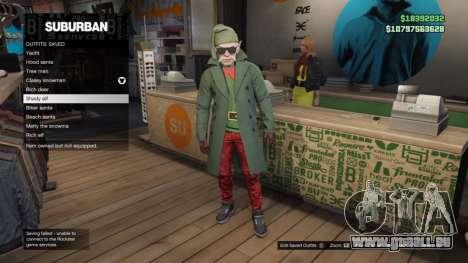 robes de Vacances dans GTA Online