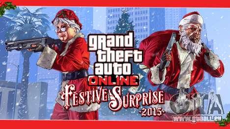 Festliche Überraschung 2015