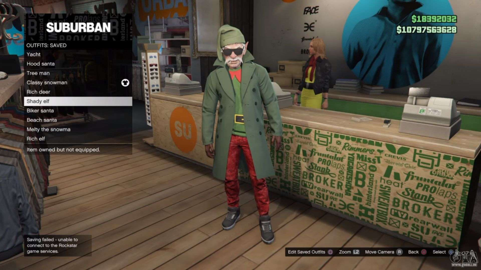the sonic flare gamer video - festliche kostüme in gta online