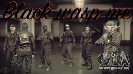 die Crew-Schwarze Wespe