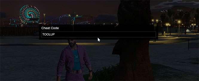Comment faire pour entrer des codes de triche par le biais de la console de jeu dans GTA 5