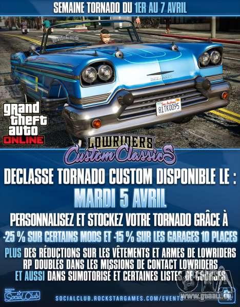 Tornade Semaine dans GTA Online