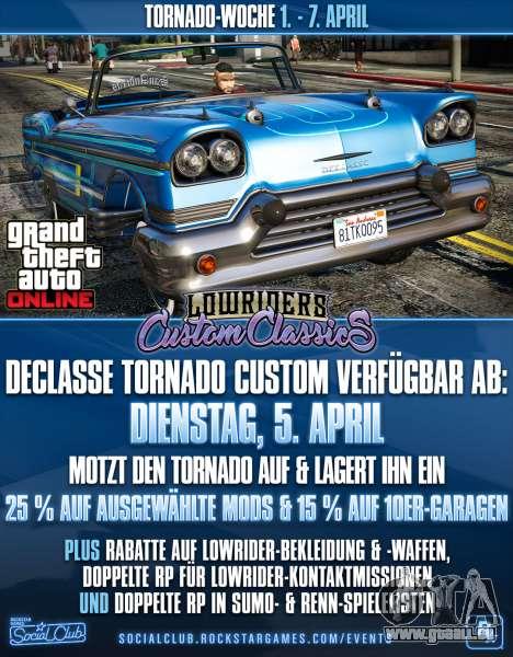 Tornado Woche in GTA Online