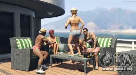 Tanzen auf dem Tisch im GTA 5!