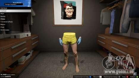 Invisible torse et des bras dans GTA Online