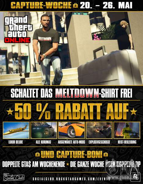 Capture Woche in GTA Online