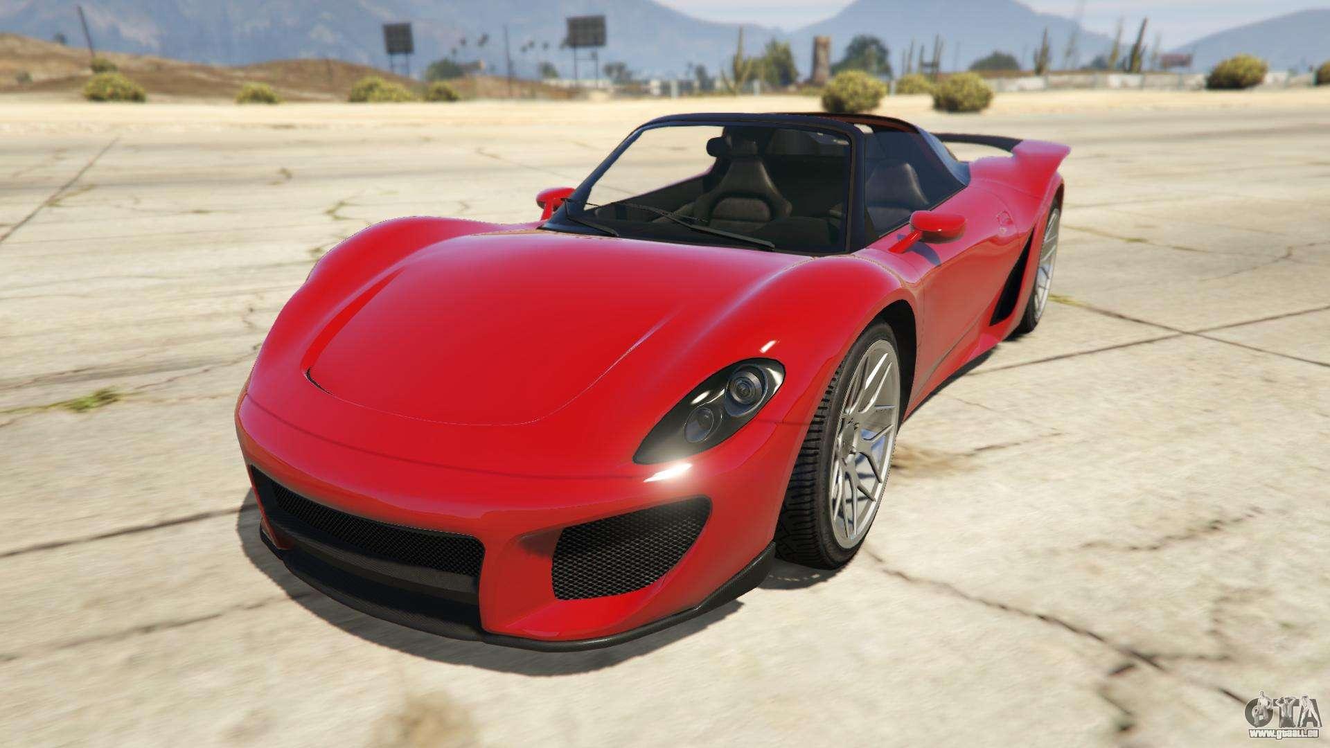 Pfister 811 de GTA Online - vue de face
