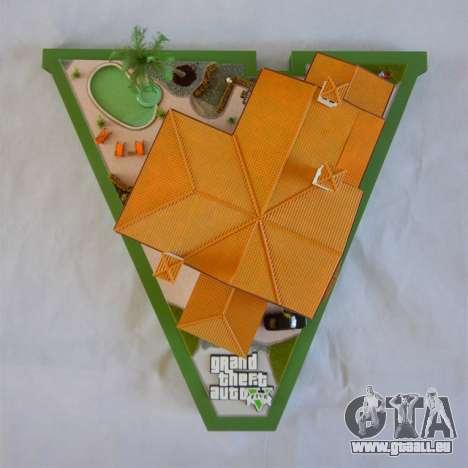 GTA V Michael s Mansion von Arianm007 - oben-Ansicht