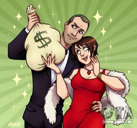 Geld und Liebe, von Jackce-Kunst