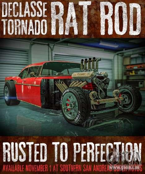 nouvelle voiture Rat Rod dans GTA Online