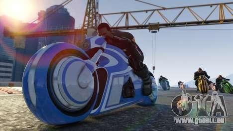 Premium racing über der Brücke