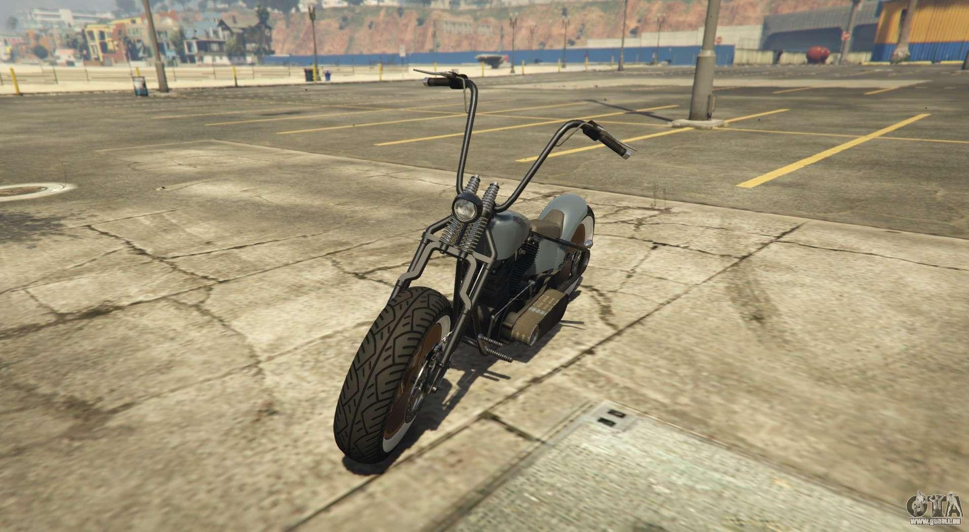 Western Zombie Bobber - bobber variation de la Zombie Chopper
