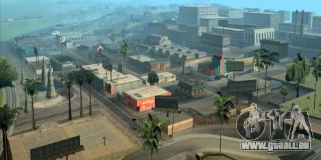 GTA San Andreas hilft Ihnen, sich zu orientieren in Los Angeles