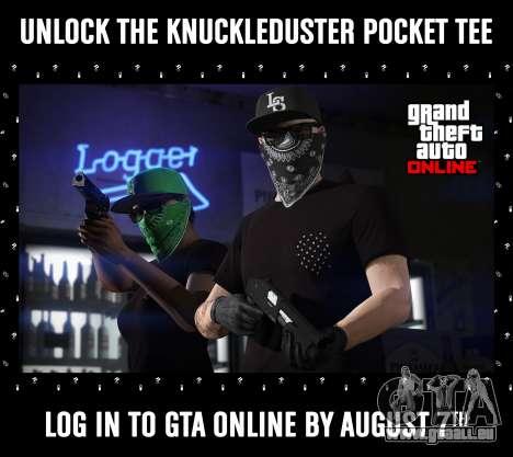 Nouveau t-shirt dans GTA Online