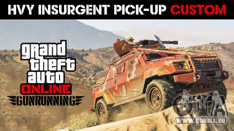 HVY Insurgent Pick-Up Custom für GTA 5