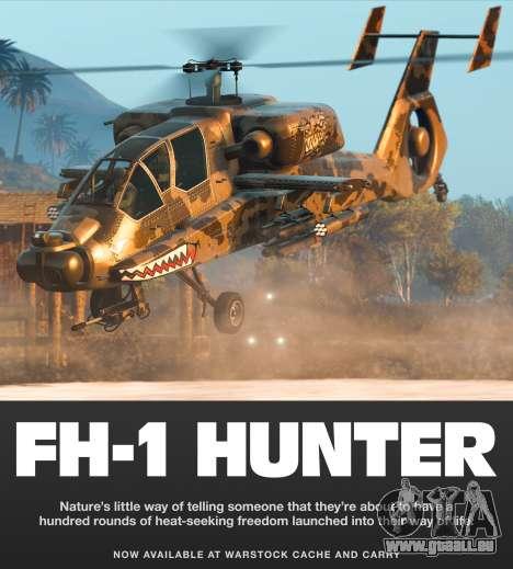 FH-1 Hunter dans GTA Online