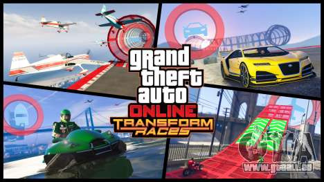 Nouvelles de la course de la transformation dans GTA Online