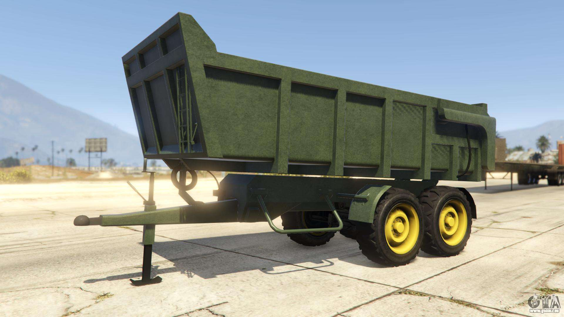 Grain Trailer de GTA Online