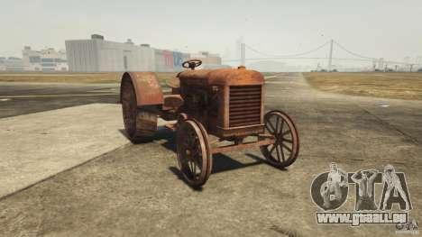 Rouillé tracteur dans GTA 5